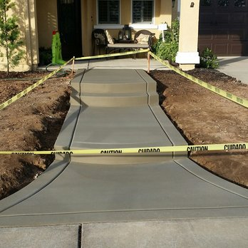 Concrete Sidewalk Installation - Concrete Walkway And Sidewalk Professionals - Okoboji, Iowa