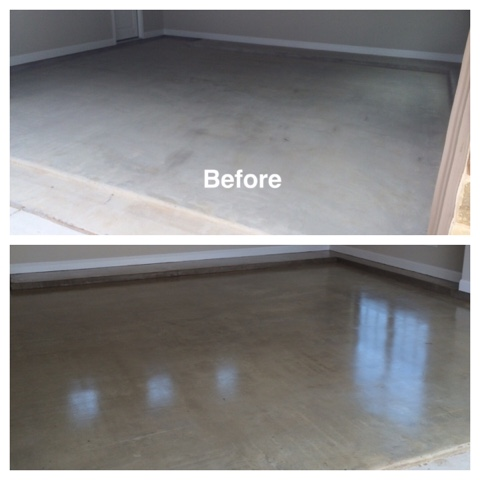 Concrete Floor Sealer - Concrete Sealing - Chesterland, Ohio