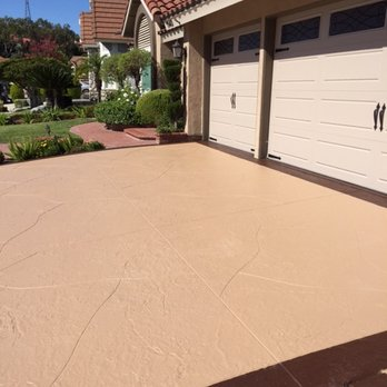 Stain Concrete Driveway - Concrete Staining - Park River, North Dakota