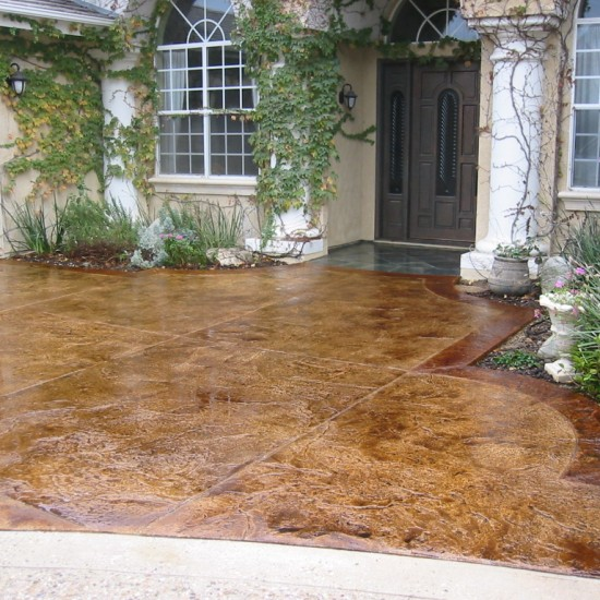 Staining Concrete Patio Services