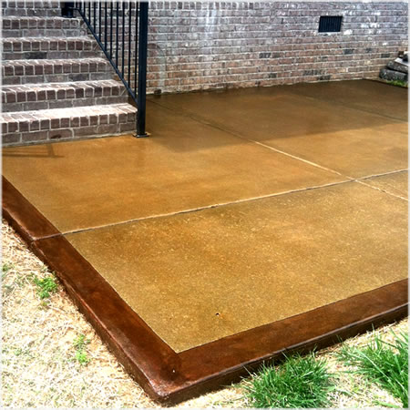 Staining Outdoor Concrete - Concrete Staining - Hillsboro, North Dakota